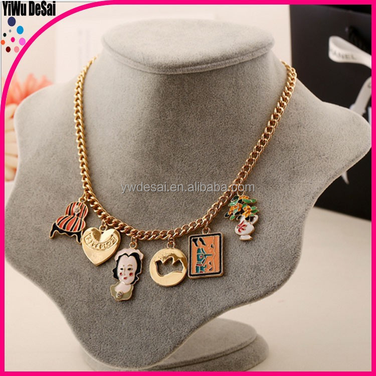 The European and American fashion accessories decorative necklace women