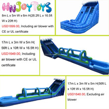 2016 new Giant inflatables water slides, inflatable pool slide for sale,2016commercial pvc inflatable slide