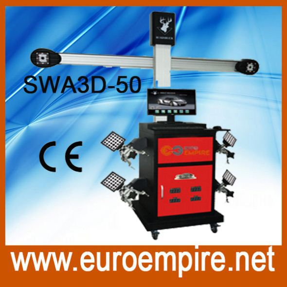 Wheel alignment and wheel balancing, Diagnosis machine wheel alignment SWA3D-50