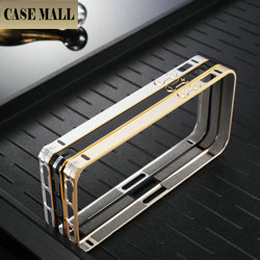 Two colors luxury metal bumper case for iphone 5s, for iphoen5s bumper cover, for iphone wholesale case