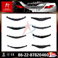 single light trailer bus suspension leaf spring