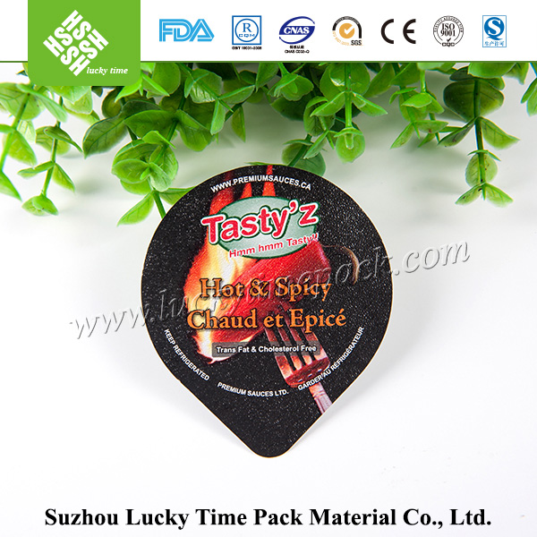 Aluminum Alloy Peelable Spicy Sauce Lidding Film