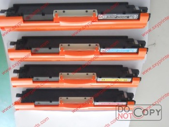Color toner cartridge for HP 126A, used for HP CE310/311/312/313A