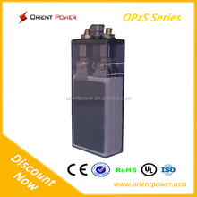 OPZS open tubular plate battery 2v 420Ah lead acid battery