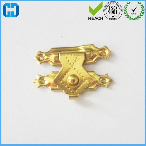 Furniture Hardware Decorative Metal Lock Latch Catch