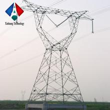 certificated 500kv power transmission tower 230kv steel round price electric galvanized pole malaysia