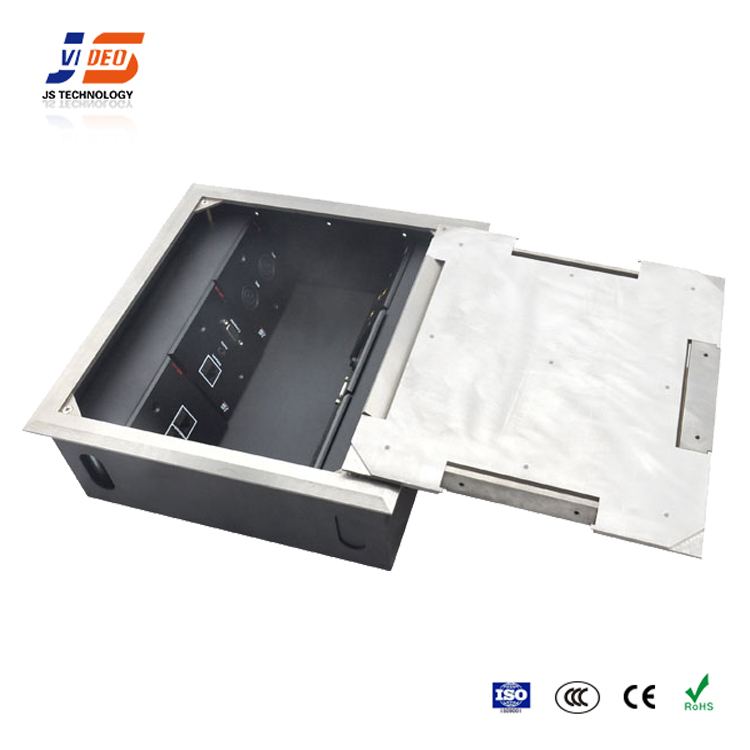 JS-DC600 Electrical floor mounted power socket outlet connection box