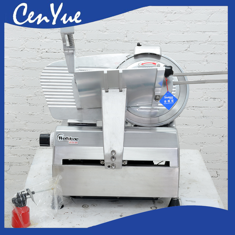 industrial automatic semi-aotomatic frozen beef mutton rolls meat slice slicer machine