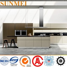 OEM Lacquer Stainless Steel Commercial Kitchen Cabinet Sets
