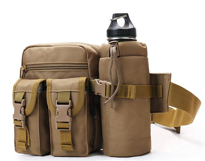 Multifunction unisex waterproof bum bag sport military fanny pack waist bag
