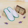 Polyester Brushed White Slipper