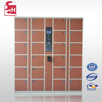24 Door Durable Electronic Barcode System Outdoor Storage Cabinet