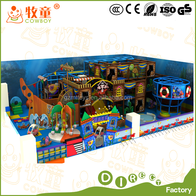 kids ball pool party room in playground idoor china factory