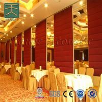 Hotel Operable Partition Wall System banquet room partitions
