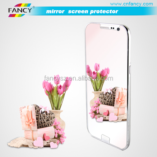 Mobile Phone Screen Protector Mirror Protective Film For Samsung Note2