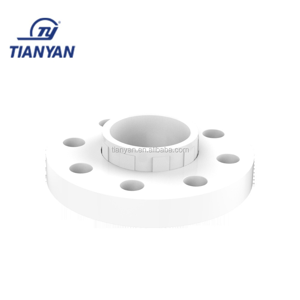 TY Factory price PVC UPVC GB standard water flexible connector rubber Joint Movable casing flange