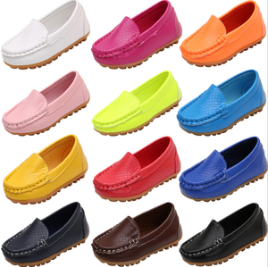 2017 New Autumn Children Shoes Basic Fashion Casual Shoes for Girls Boys Unisex Comfortable Kids Slip on Flat Loafers