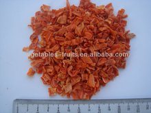 carrot cubes without sugar,5*5*5mm,China carrot