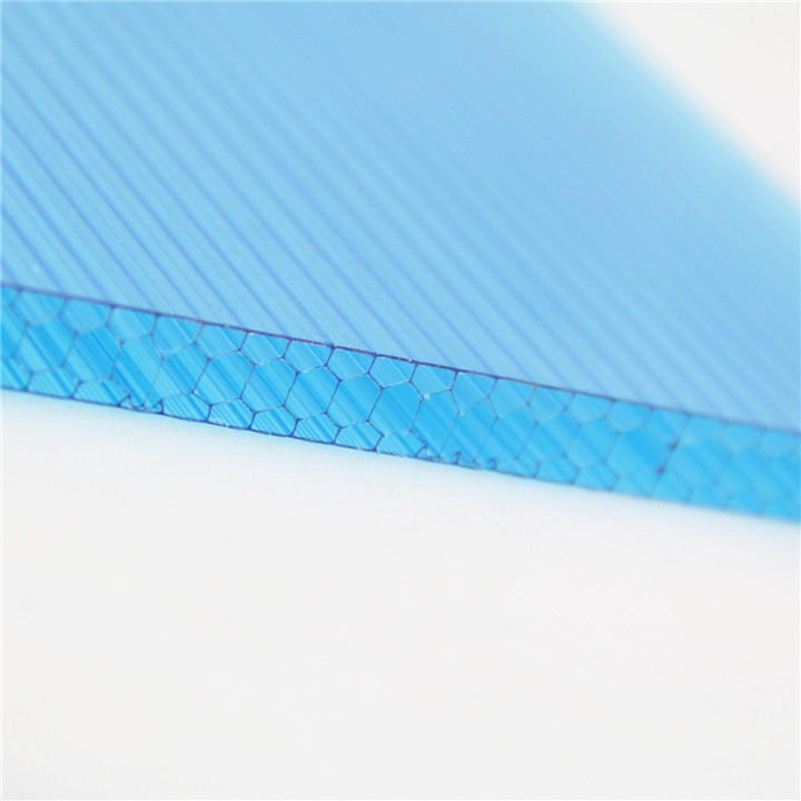 partition wall polycarbonate honeycomb plastic sheet for construction material