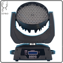 108*3w rgbw zoom led moving head wash stage light