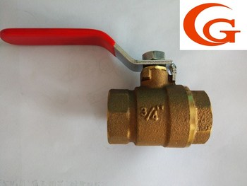 bronze Ball Valve 3/4'' G/NPT thread made in china