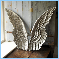 Modern Resin Angle Wing Wall Decor
