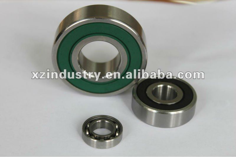 High performance chrome / carbon steel 6202rs bearing