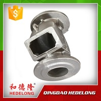 Iron Sand Casting Valve Parts Hydraulic Check Valve Body for export