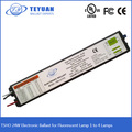 T5HO 24W Electronic Ballast for Fluorescent Lamp 1 to 4 lamps