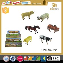 Plastic farm animal <strong>toy</strong> for kids