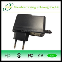 12v 1a 2a 3a wall-mounted universal power adapter for LED light bar with US UK EU AU plug