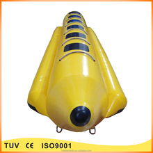 Funny inflatable swiming pool water toys water jet boat for kids