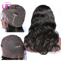 XBL Wholesale 100% brazilian virgin remy human hair full lace wig