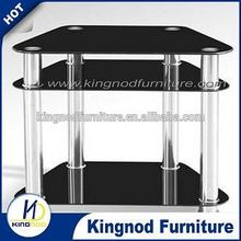 Living room tv stand modern glass Meuble TV