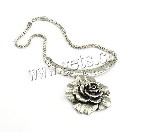 zinc alloy paper flower chain