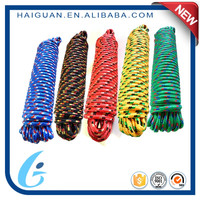 All-Color Boat Braided Pp Multifilament Cord Mooring Rope Anchor Line Rope For Wholesale