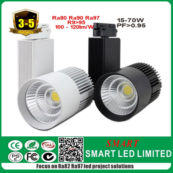 High quality 30w led cob tracklight , five years warranty, Chinese factory original supplier