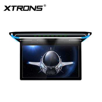 "XTRONS 15.6"" 1080P Video FHD Digital TFT LCD Monitor car roof system with HDMI"