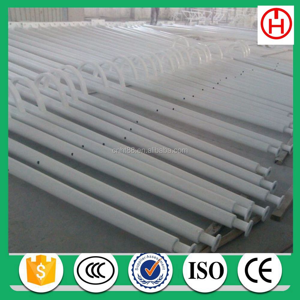 street application and steel material metal electric poles for lighting 6m height