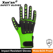 impact resistant TPR silicone gloves finger protection cutting