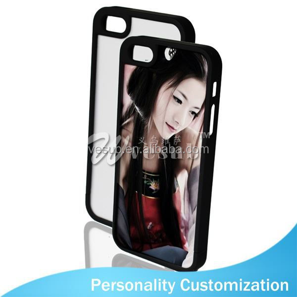 For Iphone 5 Sublimation Blank Phone Case 2D fashion wood mobile phone case for iphone