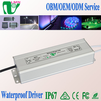 100W LED ac dc power supply IP67 waterproof