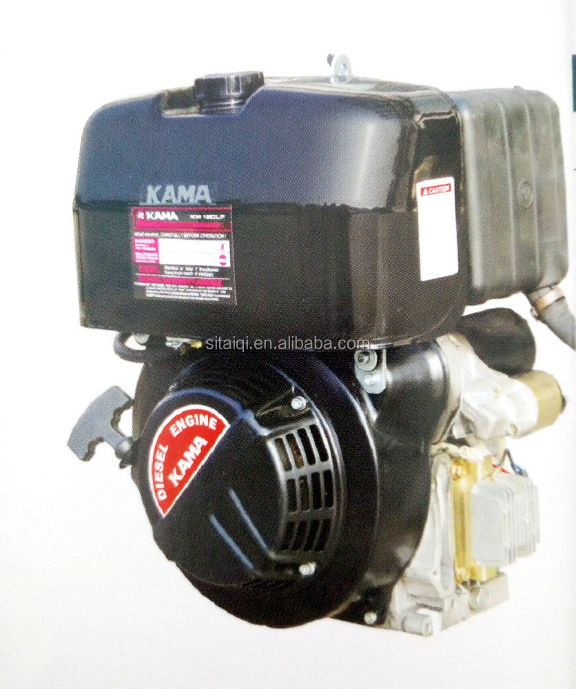 Wuxi kama 4 stroke single-cylinder Diesel Engine for marine KM12DL-800F