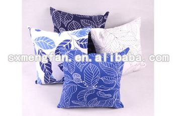 100% Cotton Canvas Print Cushion Pillow