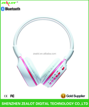 2014New product best fashion bluetooth headphones with wireless and mic stereo for iphone and smart phones