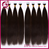 Wholesale hot new silk straight hair products for 2016 brazilian natural color 100% tape hair extensions human hair