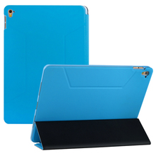 Shockproof auto-sleep extra-thin protective leather tablet case for ipad air