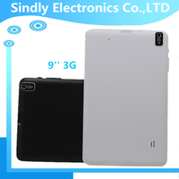 Cheapest 3G x800 x480 9 inch android 4.4 super smart tablet pc