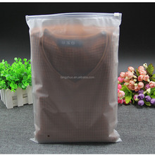 14*20cm China manufacture EVA dull polish packaging wholesale waterproof bags for clothes packaging
