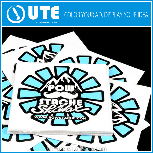 custom printing sticker, reusable auto decals, custom stickers printing